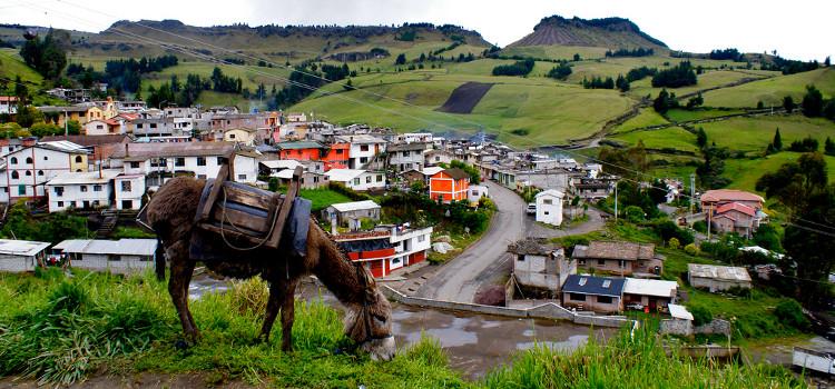 Salinas de Guaranda, haut lieu de l'artisant Equatorien