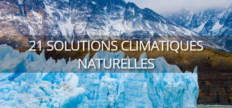 21 solutions climatiques naturelles
