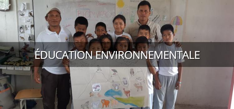 Projet d'éducation et de sensibilisation à l'environnement des jeunes enfants