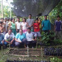 Equipe de reforestation